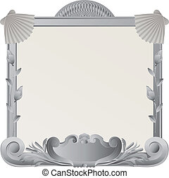 Ornamental stone frame