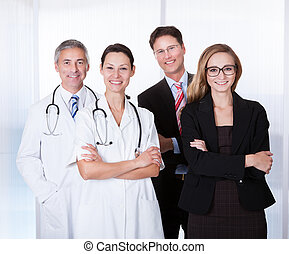 Professional Hospital Staff - Portrait Of Confident...