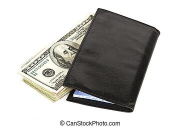 Dinheiro, talao cheque