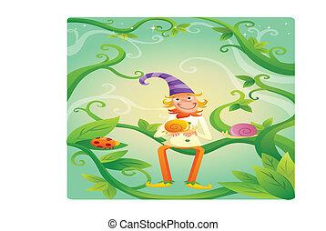 clown cartoon illustration - funny clown cartoon...