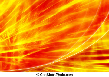 Fire abstract red - yellow background - Fire abstract...