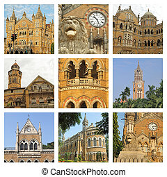architecture of Mumbai city collage
