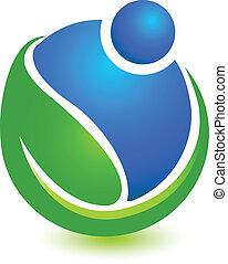 Wellness logo concept