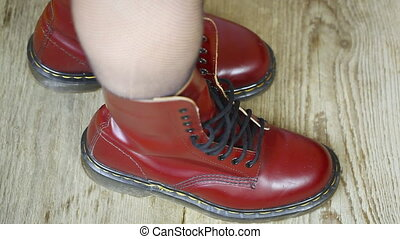 Red leather boots episode 3