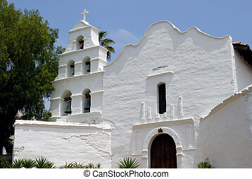 Mission San Diego - The historic Spanish Mission San Diego...