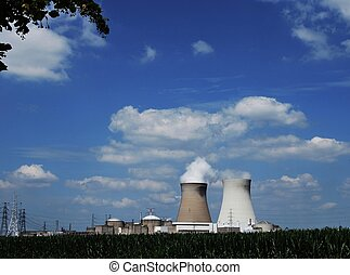 cooling towers in Belgium, Doel