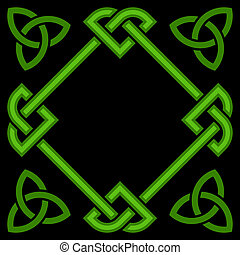 Celtic border frame