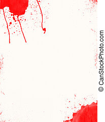 Blood Stain Paper
