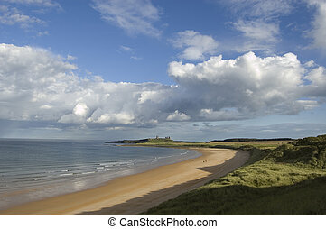 Dunstanburgh and Embleton Bay