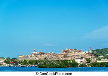 San Felipe Fortress - San Felipe de Barajas fortress in...