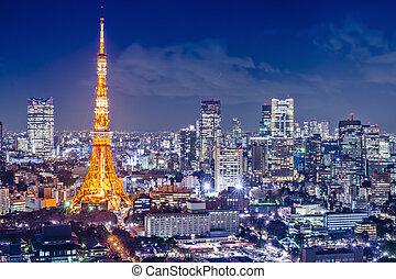 Tokyo Japan - Tokyo, Japan at Tokyo Tower