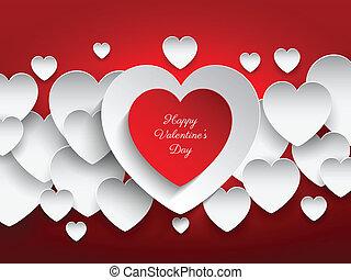 Valentine's day heart background