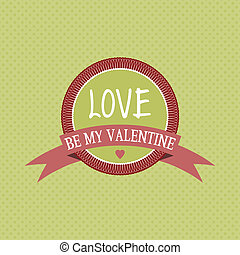 Love background - Valentines day love background with a...