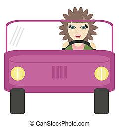nice girl driver