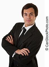 Confident business man - Portrait of a confident handsome...
