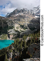 Lake O'Hara, Yoho National Park, British Columbia, Canada -...