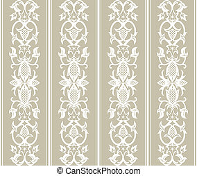Seamless Wallpaper Pattern - Seamless wallpaper pattern in...