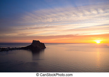 Costa Blanca sunrise