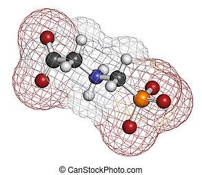 Glyphosphate herbicide molecule Crops resistant to...