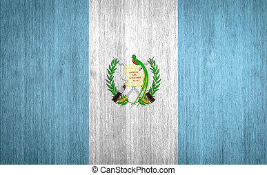 guatemala, bandera, madera, Plano de fondo