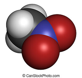 Nitromethane nitro fuel molecule Used as fuel to power...