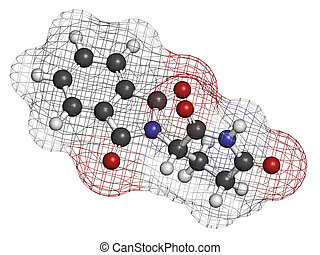 Thalidomide theratogenic drug molecule Initially used as...