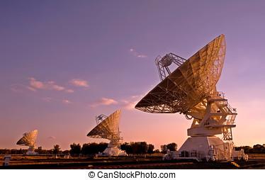 Three Compact Array Telescopes
