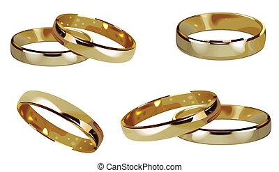 rings gold ring