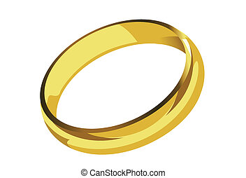 golden ring single - golden ring single illustration