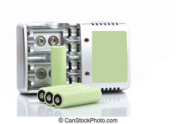 Rechargeable batteries and charger - Rechargeable batteries...