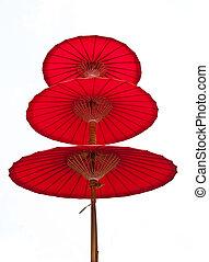 umbrella - Detail of umbrella with Thai ornamen