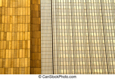 Office building background in Berlin, capital city of...
