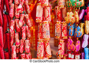 chinese new year ornament - Chinese new year ornament in a...