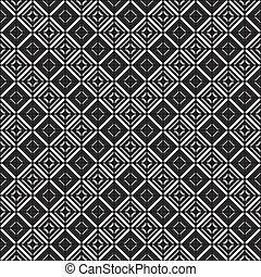 Pattern descending square