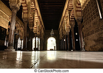 Ground view of View of Cathedral-Mosque of Cordoba,...