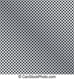 Vector illustration of 3d dots pattern