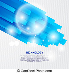 Virtual lines abstract vector background