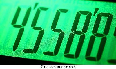 Calculator - Close up of a digital?calculator