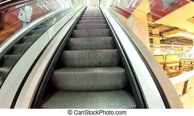 Rise on the escalator