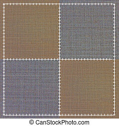 sewing fabric texture background.