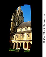 Abbey in Caen - Men\'s abbey in Caen,France.