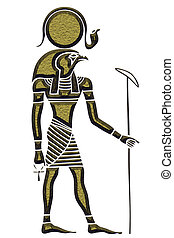 Ra - God of the Sun - Image of the Ra - God of the Sun - God...