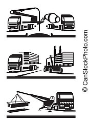 Construction transportation - Construction and lifting...