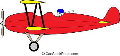 Biplane - Old aeroplane