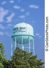 Water tower,Cape May, NJ - Water tower, sea resort of Cape...