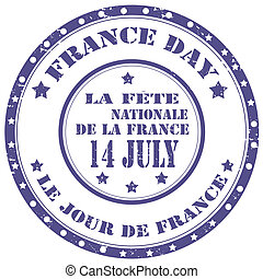 France Day-stamp