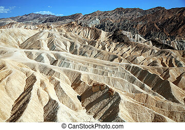 Zabriskie Point, Death Valley National Park, USA, California