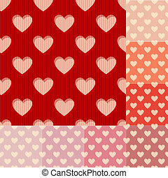 seamless heart background pattern