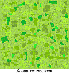 Green seamless checkered pattern