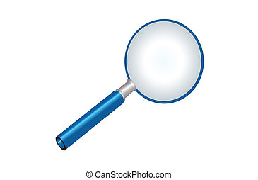 magnifying glass - magnifying glass illustration